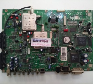 Y51190R-6, BEKO, HX5 3ZZ, MAIN BOARD P6 42 PDP, 42 İNÇ