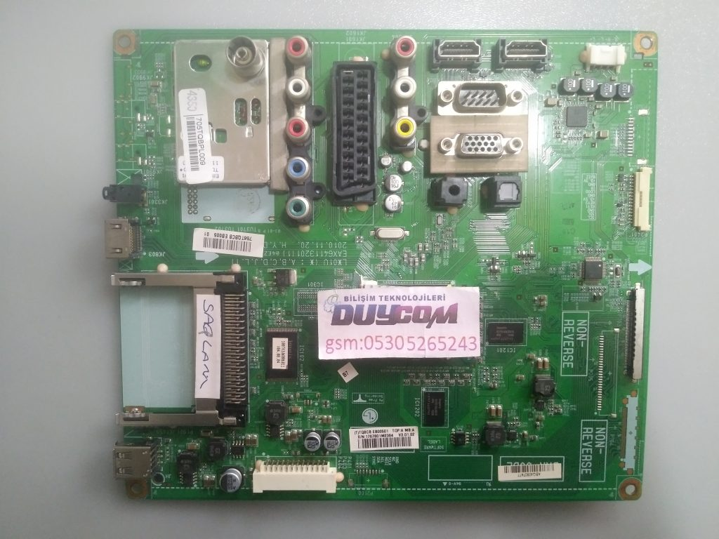 EAX64113201, EBT61396870, LG ANAKART, EAX64272803, MAIN BOARD, 32LK430-ZA, 32LV3550, ANAKART