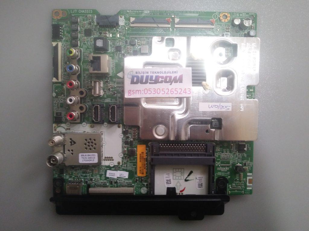 EAX67133404, PZR110, 64065608, LG, 43UJ630V, MAIN BOARD, UJ65 K3LP, LG ANAKART